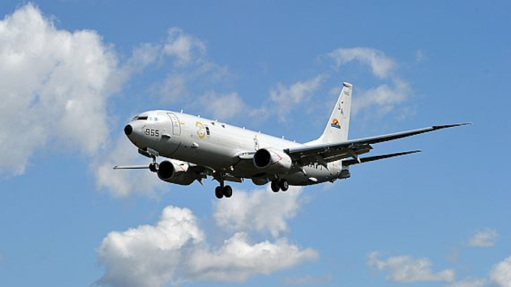 Navy orders 10 more P-8A Poseidon surveillance and maritime patrol aircraft for U.S. and United Kingdom
