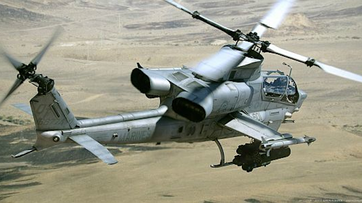 Bell gets ready to build 27 new Marine Corps AH-1Z attack helicopters in $36.6 million order