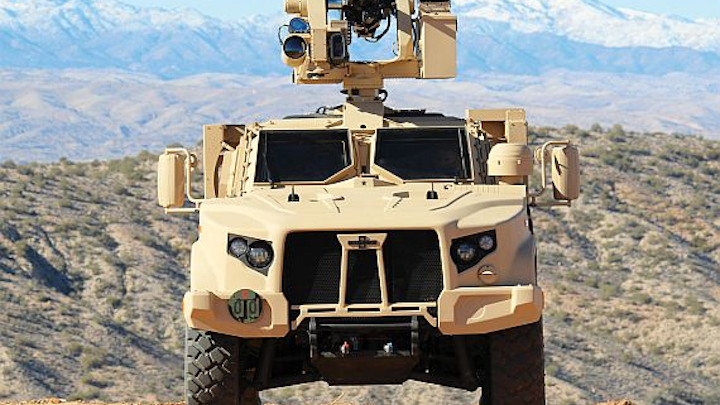 Army orders 416 new Joint Light Tactical Vehicle (JLTV) systems in $106.3 million deal
