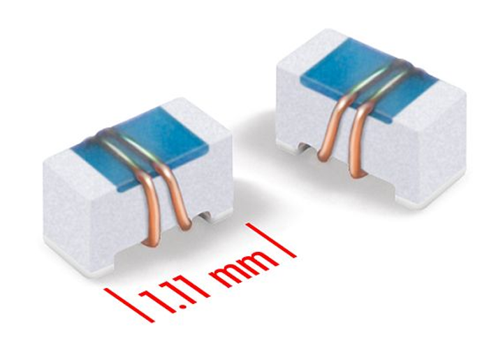 Ceramic wirewound chip inductors for antennas in mobile