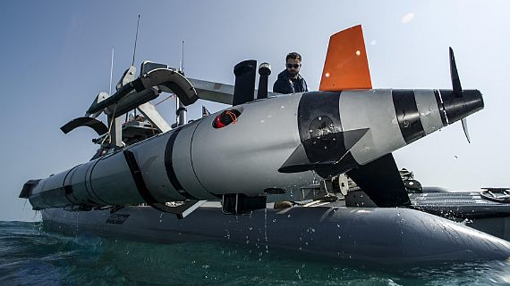 Navy eyes unmanned underwater vehicle (UUV) weapons payloads to stop or disable 160-foot ships at sea