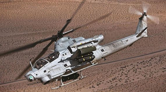 Navy asks Bell to build 29 new AH-1Z Viper attack helicopters and avionics for Marine Corps