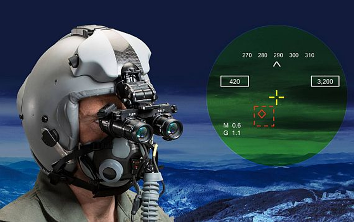 Rockwell Collins-ESA to provide 120 head-up helmet-mounted displays for jet  fighter-bombers | Military & Aerospace Electronics
