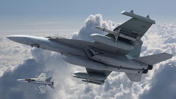 Low-band jammers clear way for stealth aircraft