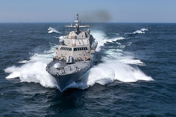 Raytheon hands over LCS anti-submarine warfare transmitter component to Navy