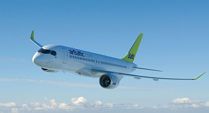 Bombardier takes 20 orders and options from airBaltic for CS300 jets Tuesday; Farnborough total hits 35