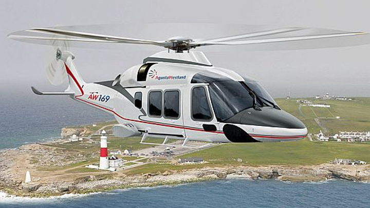 AgustaWestland chooses flight recorder avionics from Curtiss-Wright for the AW169 twin-engine civil helicopter