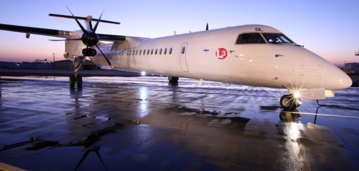 L-3 Mission Integration and industry partners customize Bombardier Q400 commercial aircraft for maritime, ISR missions