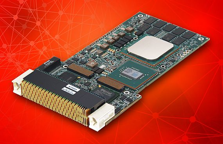 High-reliability 3U VPX embedded computing for trusted computing
