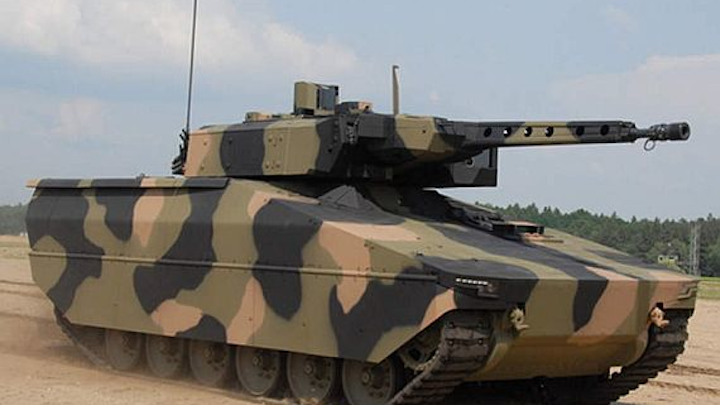 U.S. Army considers German-built armored combat vehicle, with U.S. sensors and embedded computing
