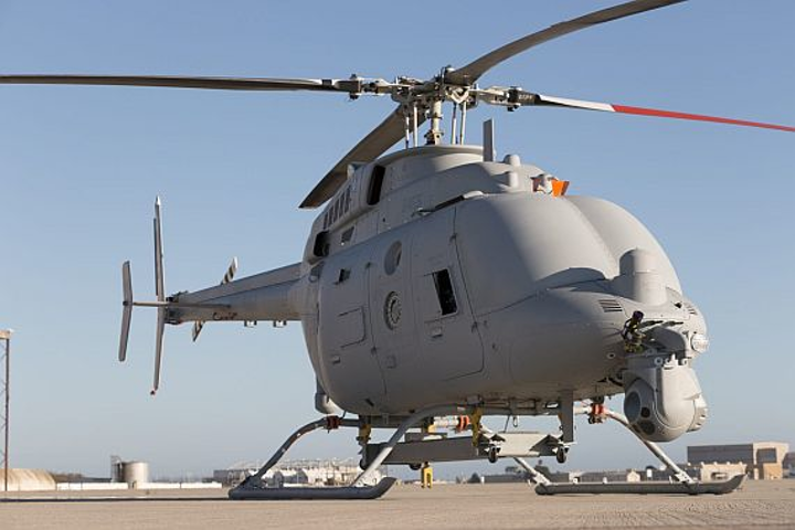 Northrop Grumman to build five new MQ-8C Fire Scout unmanned