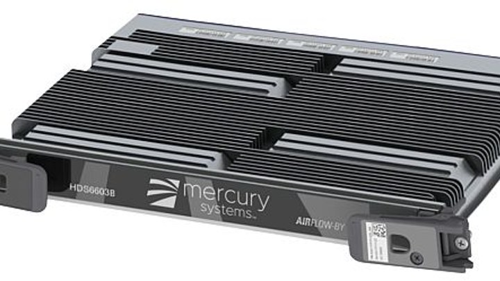 Rugged 6U OpenVPX embedded computing blade servers for artificial intelligence (AI) introduced by Mercury