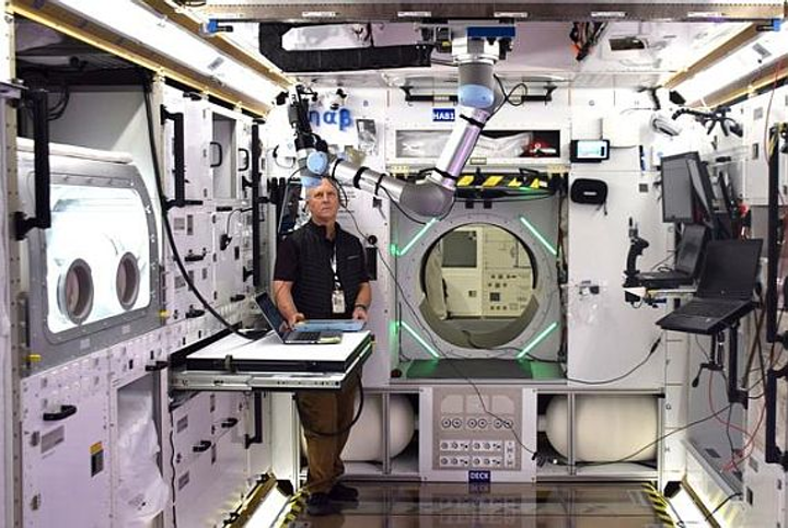 Inside Lockheed Martin's prototype astronaut habitat: computers and even a greenhouse in deep space