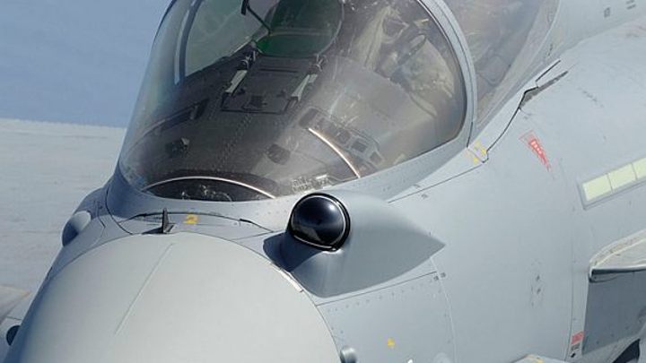 Infrared search and track (IRST) technology gives jet fighter aircraft stealthy vision