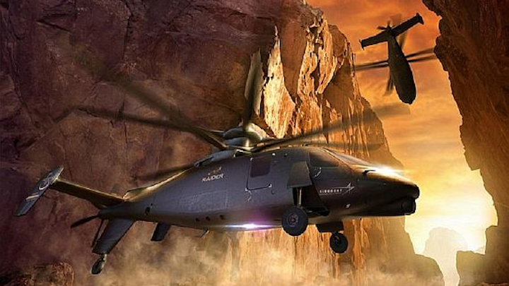 Army's Future Attack Reconnaissance Aircraft (FARA) military helicopter to replace OH-58D, half AH-64s