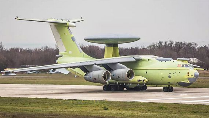 Russia's new radar surveillance aircraft, dubbed flying mushroom, can track 300 targets at once