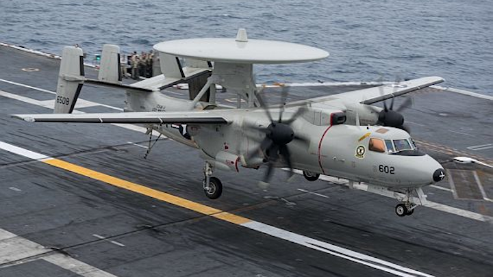 Northrop Grumman to build 24 more E-2D Advanced Hawkeye radar aircraft and avionics in $3.2 billion deal