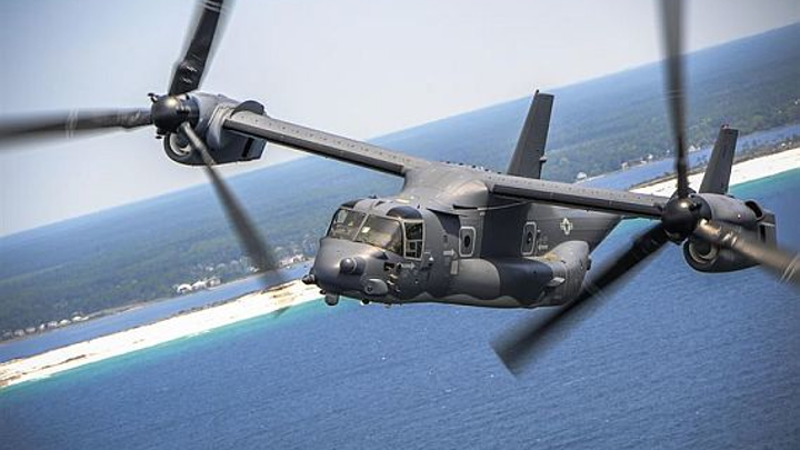 Navy asks EFW to build 132 avionics mission computers for Navy and Air Force V-22 Osprey tiltrotor aircraft