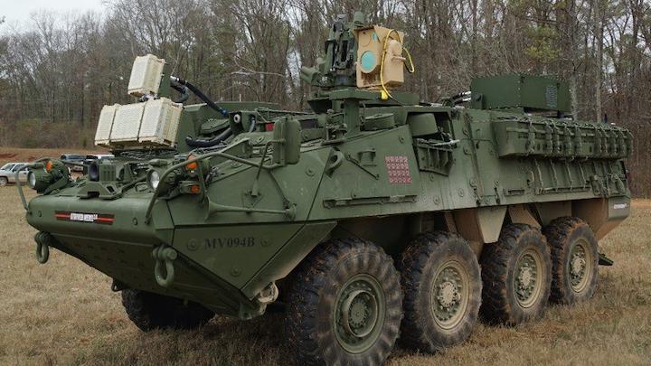 Laser Stryker 30 May 2019
