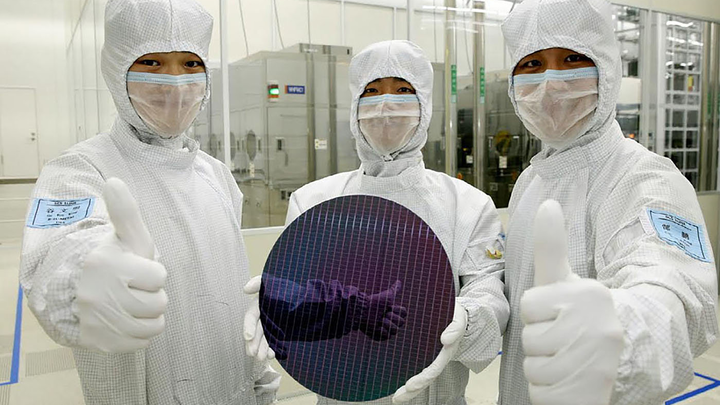 Samsung Chip Fab 3 June 2019
