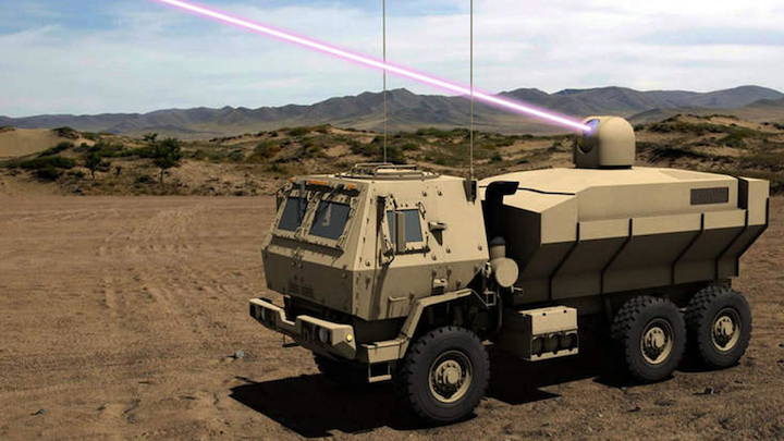 Laser Weapons 28 May 2019