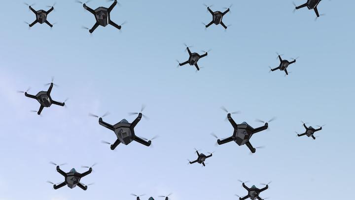 Swarming Drones 21 May 2019
