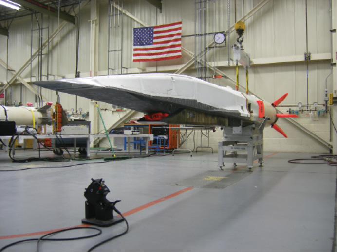 The X-51 Scramjet Engine Demonstrator, called Waverider, flew four times between 2010 and 2013 to prove the viability of a scramjet-powered vehicle for hypersonic weapons applications.