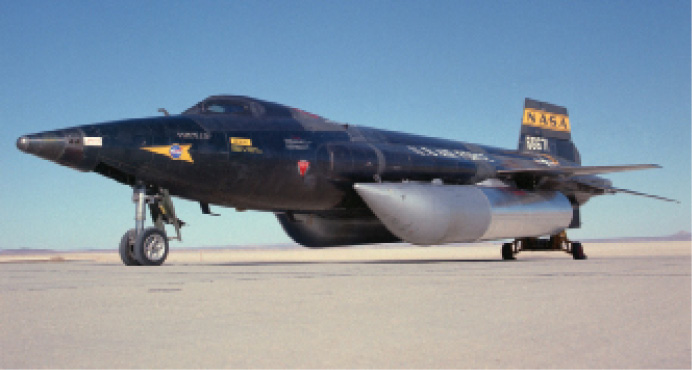 The U.S. Air Force and NASA X-15 achieved hypersonic flight more than 50 years ago in attempts to set new aircraft speed and altitude records through the atmosphere.