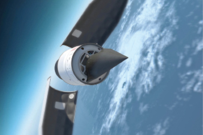 The DARPA Falcon Project seeks to develop a reusable, rapid-strike hypersonic cruise missile, as well as a launch system to accelerate the weapon to hypersonic cruise speeds.