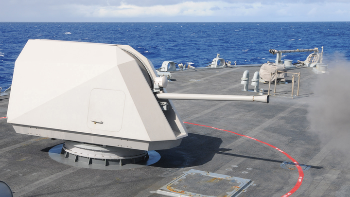 Mk 110 Deck Gun 15 May 2019