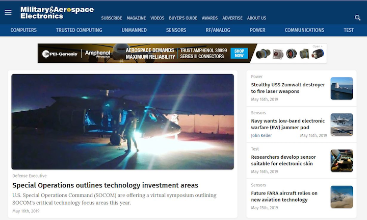 M&ae Home Page 16 May 2019