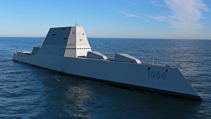 Uss Zumwalt 16 May 2019