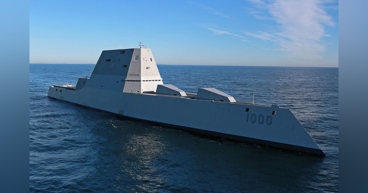 Stealthy USS Zumwalt land-attack destroyer to fire new missiles and laser weapons | Military Aerospace