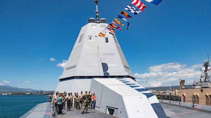 Zumwalt Class Destroyer 20 May 2019