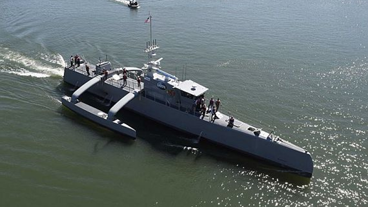 Navy to stand up development squadron for unmanned surface ships to find home for autonomous vessels