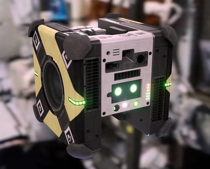 NASA's cubic-foot Astrobee robots to help humans work in zero