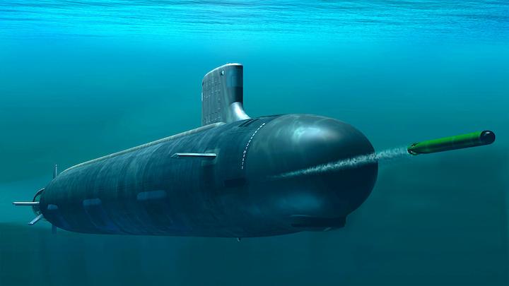 Mk 48 Torpedo 4 June 2019