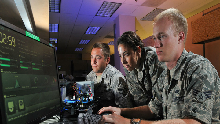 Air Force Cyber 1 July 2019