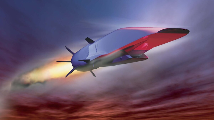 Hypersonic Missile 6 June 2019