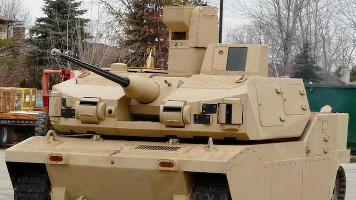 Robotic Combat Vehicle 10 June 2019