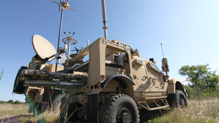 Prophet Enhanced is a platform-independent modular system for easy integration onto a variety of military vehicles.