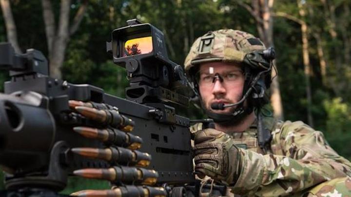 Machine Gun Optic 29 July 2019