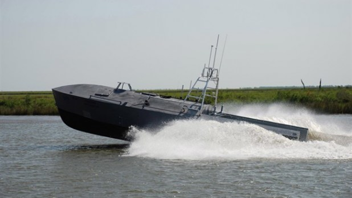 Unmanned Surface Vessel 3 July 2019