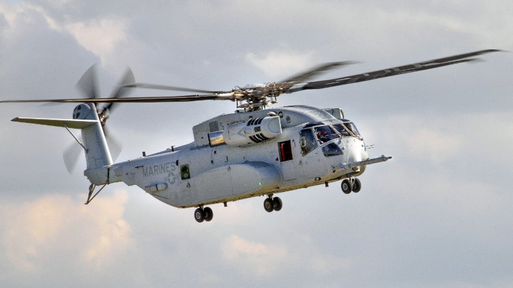 Ch 53 K Helicopter 13 Aug 2019