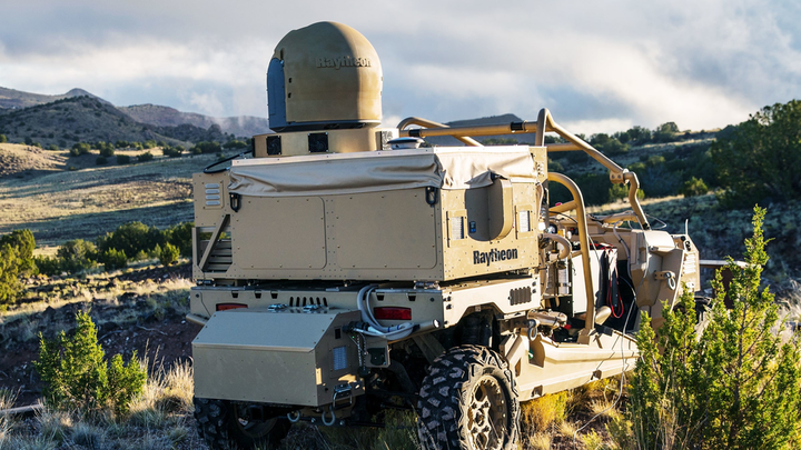 Laser Weapon Raytheon 5 Aug 2019