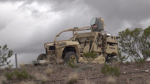 Raytheon announces delivery of first laser counter-UAS system to U.S. Air Force