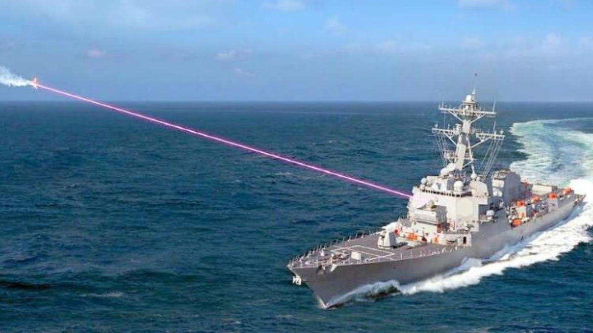 laser weapon Navy destroyers enemy drones | Military & Aerospace ... Marinha dos EUA