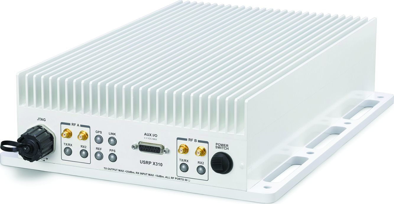 The Pixus Technologies RX310 is a ruggedized version of National Instruments X310 software-defined radio.
