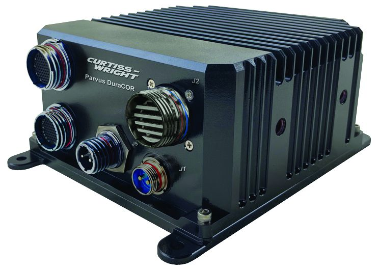 The Curtiss-Wright Parvus DuraCOR AGX Xavier is suitable for applications in-vehicle and airborne rugged mission computing and sensor integration, as well as for SWaP-sensitive C4ISR autonomous vehicles, electronic warfare, and targeting.