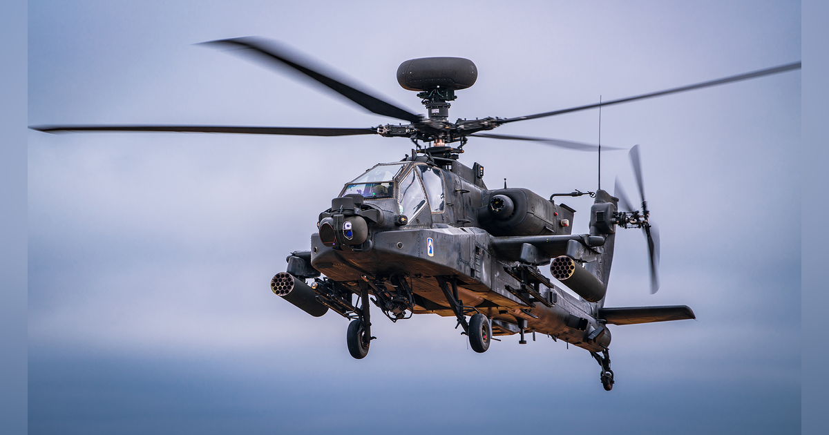 News • US Army 3rd Combat Aviation • Completes AH-64E Apache Helicopter Fielding Georgia – Aug 23
